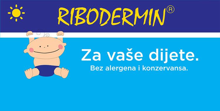 Ribodermin - mast za njegu nježne kože vašeg djeteta