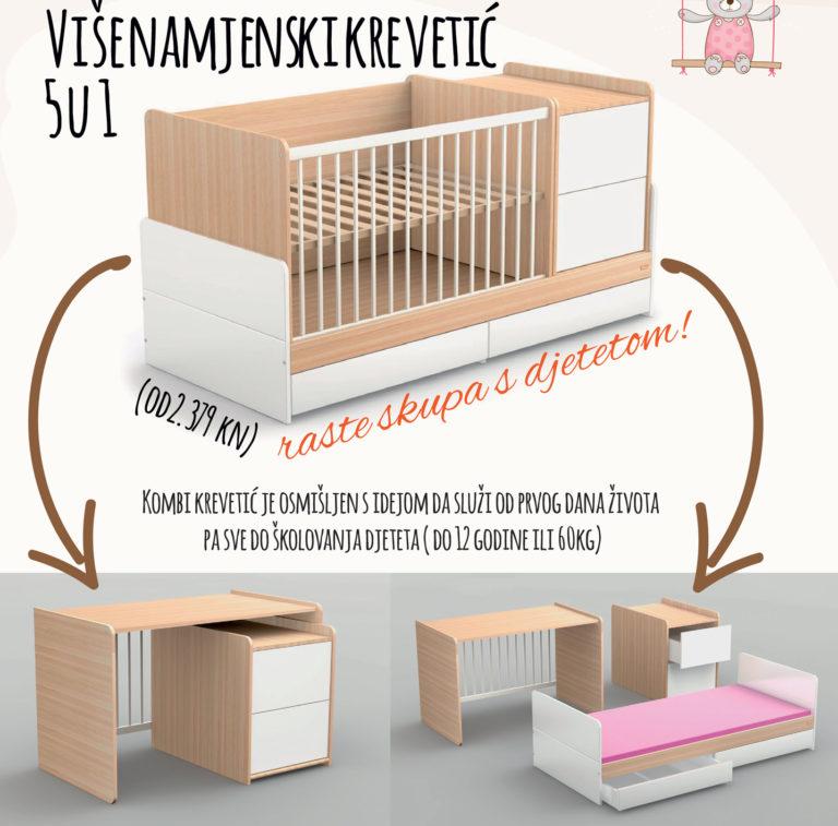 višenamjenski krevetić