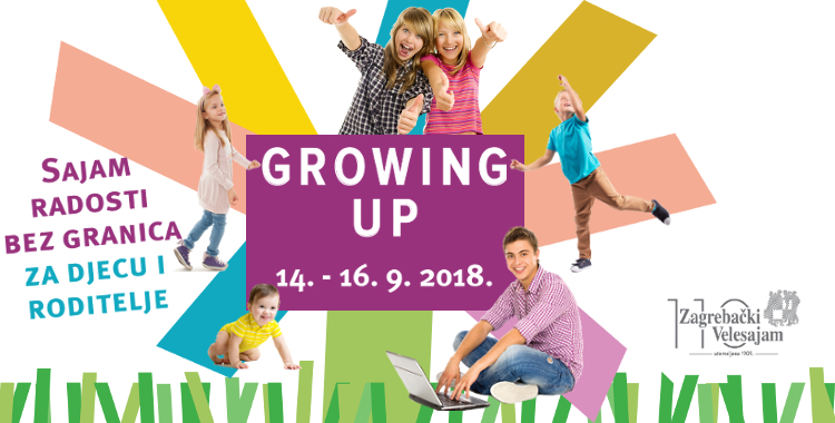 GROWING UP -sajam radosti bez granica za djecu i roditelje